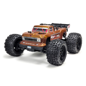 1/10 OUTCAST 4×4 4S BLX Brushless Stunt Truck with Spektrum RTR, Bronze