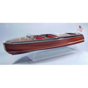 1/8 1938 Chris-Craft Triple Cockpit Barrel Back Boat Kit, 40