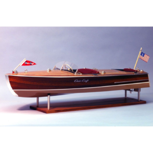 1/8 1949 Chris-Craft Racing Runabout Boat Kit, 28
