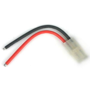 Connector with Lead: Tamiya Female, 14 AWG