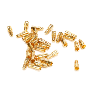 Connector: Gold Bullet Male, 3.5mm (30)