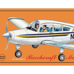 Beechcraft Musketeer Laser Cut Kit, 20