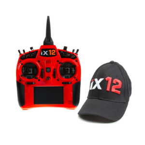 iX12 12-Channel DSMX Transmitter Only, Red