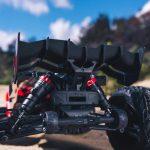 1/10 KRATON 4×4 4S BLX Brushless Monster Truck with Spektrum RTR, Red