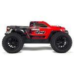 1/10 GRANITE MEGA 550 Brushed 4WD Monster Truck RTR, Red/Black