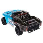 מכונית על שלט – 1/10 SENTON MEGA 550 Brushed 4WD Short Course Truck RTR, Blue/Black