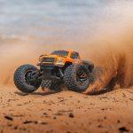 1/10 GRANITE 3S BLX 4WD Brushless Monster Truck with Spektrum RTR, Orange/Black