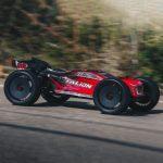 מכונית על שלט 1/8 TALION 6S BLX 4WD Brushless Sport Performance Truggy with Spektrum RTR, Red/Black