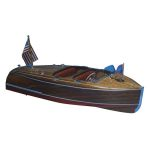 1/8 1940 Chris-Craft Barrel Back Boat Kit, 28