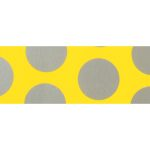 UltraCote, Bright Yellow with Silver Dots