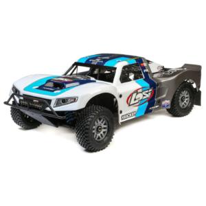 מכונית על שלט 1/5 5IVE-T 2.0 4WD Short Course Truck Gas BND, Grey/Blue/White